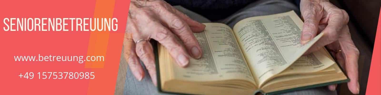 Seniorenbetreuung-Demenzkranke