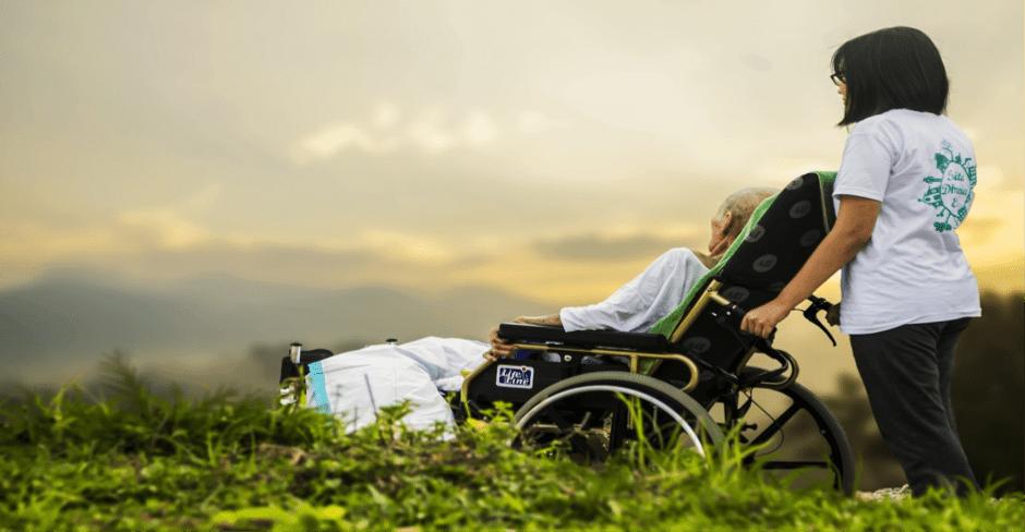 Pflege von bettlägerigen Patienten