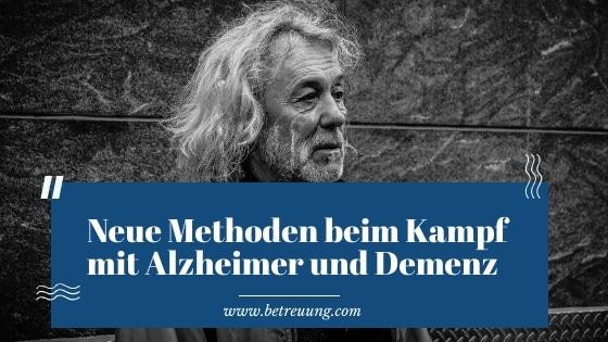 Kampf mit Alzheimer und Demenz